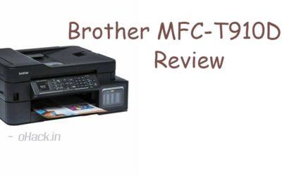 Brother MFC-T910DW Review